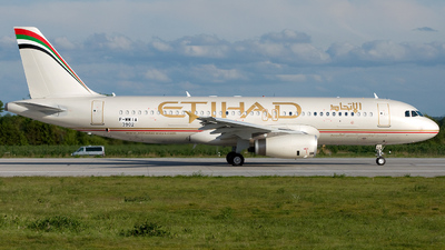 F-WWIA - Airbus A320-232 - Etihad Airways