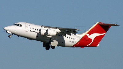 VH-NJZ - British Aerospace BAe 146-100 - Qantaslink