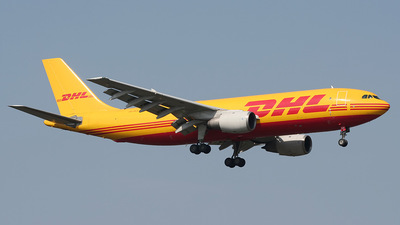 OO-DLE - Airbus A300B4-203(F) - DHL (European Air Transport)