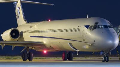 F-GMLK - McDonnell Douglas MD-83 - Blue Line