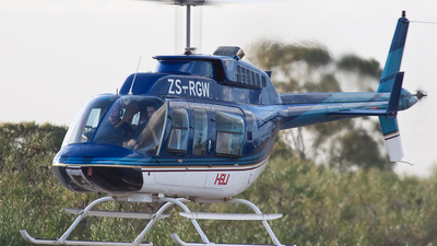 ZS-RGW - Bell 206L-1 LongRanger - Heli Aviation