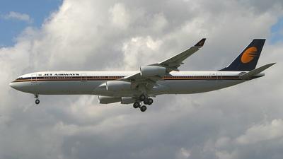 VT-JWA - Airbus A340-313E - Jet Airways