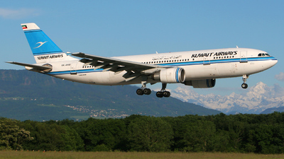 9K-AMB - Airbus A300B4-605R - Kuwait Airways