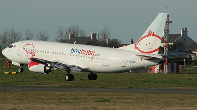 G-OGBE - Boeing 737-3L9 - bmibaby