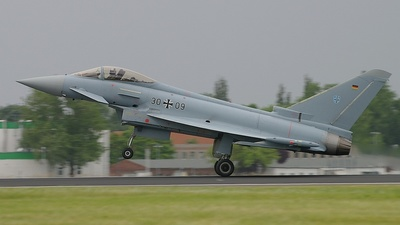 30-09 - Eurofighter Typhoon EF2000 - Germany - Air Force