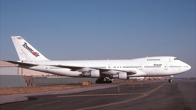N614FF - Boeing 747-238B - Tower Air
