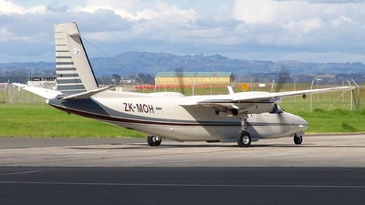 Rockwell 690 Turbo Commander - NZ Aerial Mapping