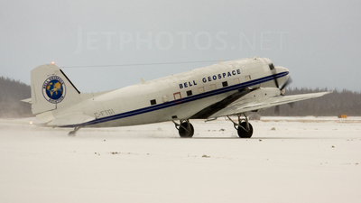 C-FTGI - Basler BT-67 - Bell Geospace Aviation