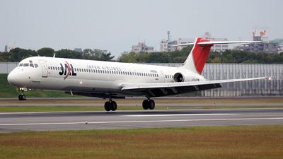JA8294 - McDonnell Douglas MD-81 - Japan Airlines (JAL)