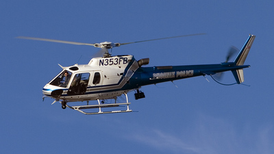 N353FB - Eurocopter AS 350B3 Ecureuil - United States - Phoenix Police Department