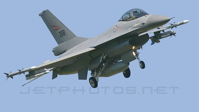 288 - General Dynamics F-16AM Fighting Falcon - Norway - Air Force