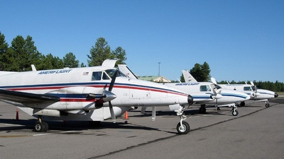 A picture of N130GP - Beech C99 Airliner - Ameriflight - © Sun Valley Aviation