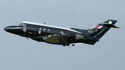 XS731 - Hawker Siddeley Dominie T.1 - United Kingdom - Royal Air Force (RAF)