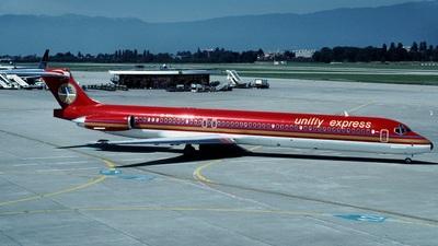 EI-BTU - McDonnell Douglas MD-83 - Unifly Express