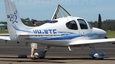 VH-WTF - Cirrus SR22-G2 - Private