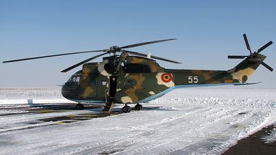 55 - IAR-330L Puma - Romania - Air Force