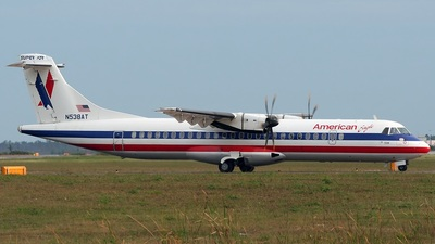 N538AT - ATR 72-212A(500) - American Eagle (Executive Airlines)