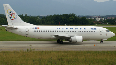 EC-JQX - Boeing 737-329 - Olympic Airlines (Hola Airlines)
