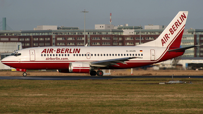 D-AGEB - Boeing 737-322 - Air Berlin (Germania)