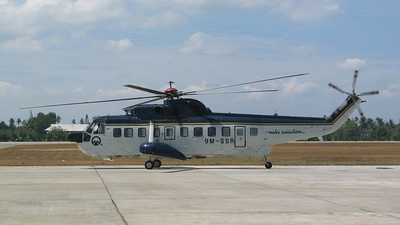 9M-SSR - Sikorsky S-61 - MHS Aviation