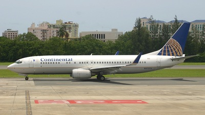 N37274 - Boeing 737-824 - Continental Airlines