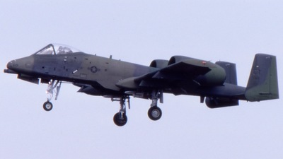 78-0619 - Fairchild A-10A Thunderbolt II - United States - US Air Force (USAF)