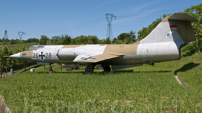 2628 - Lockheed F-104 Starfighter - Germany - Air Force
