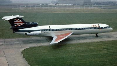 G-AWYZ - Hawker Siddeley HS-121 Trident 3 - British European Airways (BEA)