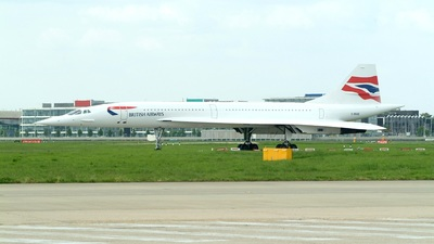 G-BOAB - Aérospatiale/British Aircraft Corporation Concorde - British Airways
