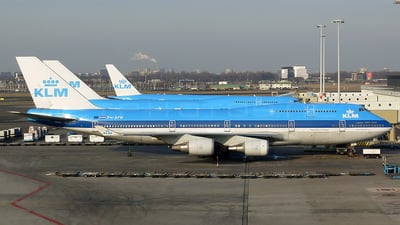 PH-BFW - Boeing 747-406(M) - KLM Royal Dutch Airlines