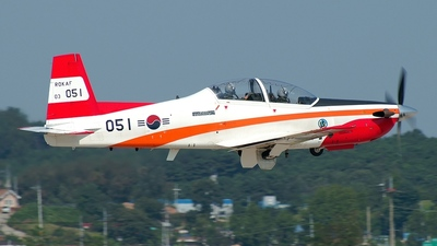 03-051 - KAI KT-1 Woong-Bee - South Korea - Air Force