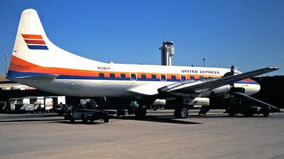 N5814 - Convair CV-580 - United Express (Aspen Airways)