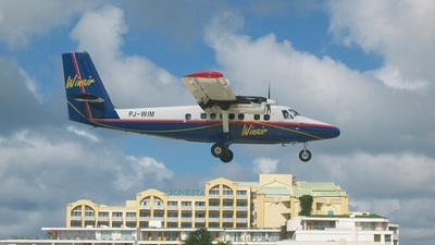 PJ-WIM - De Havilland Canada DHC-6-300 Twin Otter - Winair - Windward Islands Airways