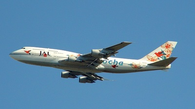 JA8183 - Boeing 747-346 - Japan Airlines (JAL)