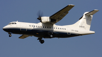 ZS-OSN - ATR 42-320 - Pelican Air Services