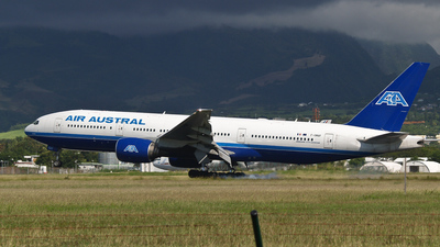 F-OMAY - Boeing 777-2Q8(ER) - Air Austral