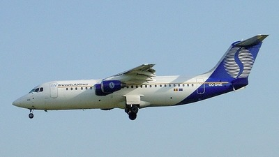 OO-DWE - British Aerospace Avro RJ100 - SN Brussels Airlines