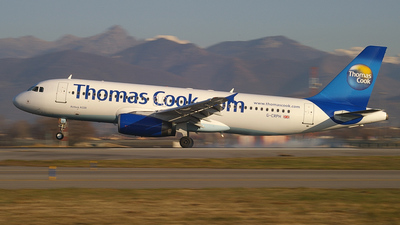 G-CRPH - Airbus A320-231 - Thomas Cook Airlines