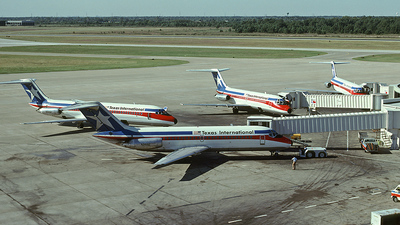 N968E - McDonnell Douglas DC-9-15 - Texas International Airlines