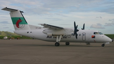 A picture of P2ANK - De Havilland Canada Dash 8200 - Air Niugini - © Shane Tobin