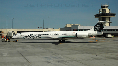N975AS - McDonnell Douglas MD-83 - Alaska Airlines