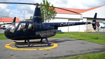 C-FAYQ - Robinson R44 Raven II - Private