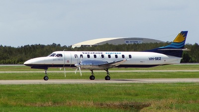 VH-SEZ - Fairchild SA227-AC Metro III - Sunshine Express Airlines