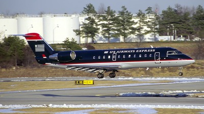 N77195 - Bombardier CRJ-200LR - US Airways Express (Mesa Airlines)