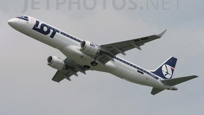 PT-TBM - Embraer 190-200LR - LOT Polish Airlines