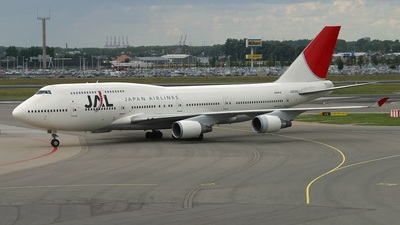 JA8089 - Boeing 747-446 - Japan Airlines (JAL)