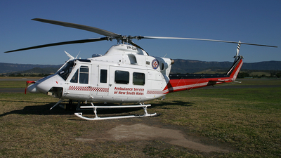 VH-UAH - Bell 412 - Ambulance Service of NSW