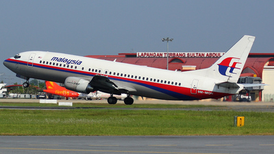 9M-MQN - Boeing 737-4H6 - Malaysia Airlines