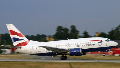 G-GFFF - Boeing 737-53A - British Airways