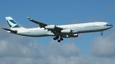 B-HXC - Airbus A340-313X - Cathay Pacific Airways